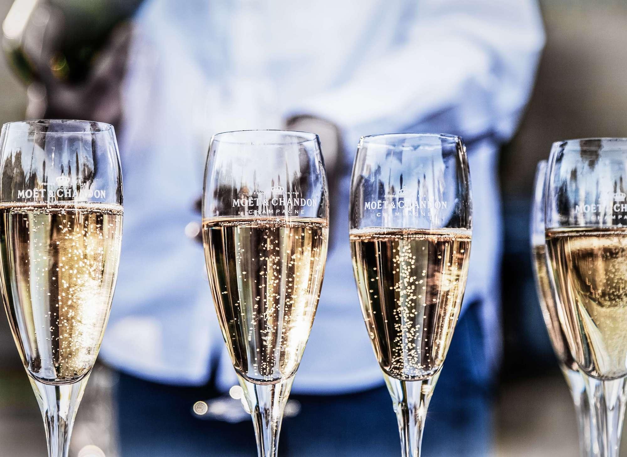 Just Good Food Champagne & Soft Drinks Menu
